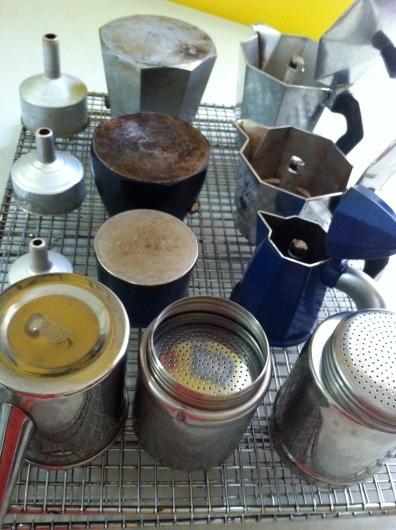 My Stovetop Espresso Pots