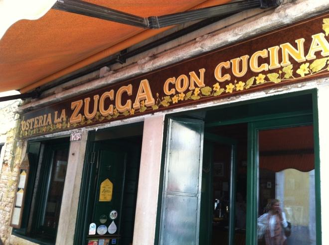 La Zucca, Venice Italy