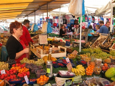 Vegetable Market in Rome