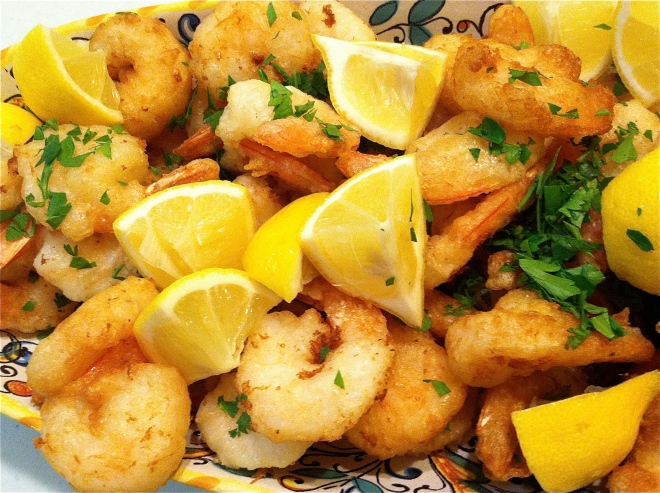 Shrimp Fritto Misto