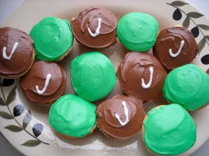 Jets Cupcakes