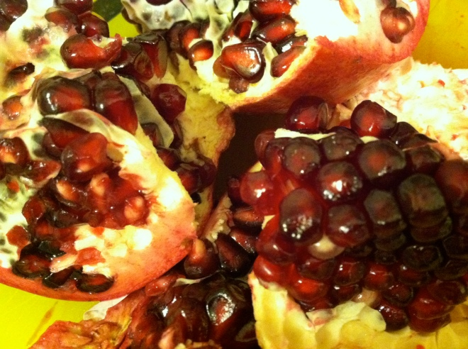 Pomegranate jewels