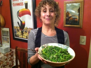 P with the Peas