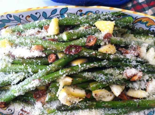 Asparagus w 3 Flavors