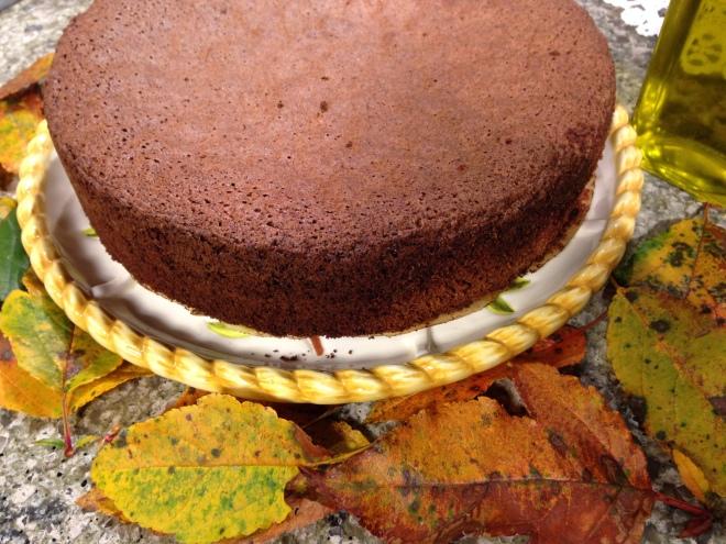 Chocolate Spice Olive Oil Cake
