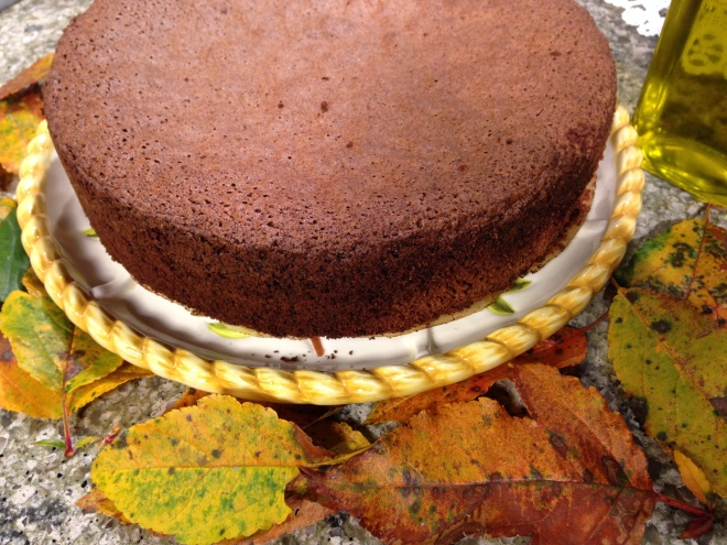 Chocolate Spice Olive Oil Cake