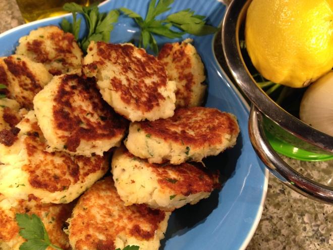 Potato Cod Cakes