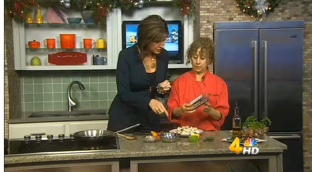 Savory Mushrooms demo on Channel 4