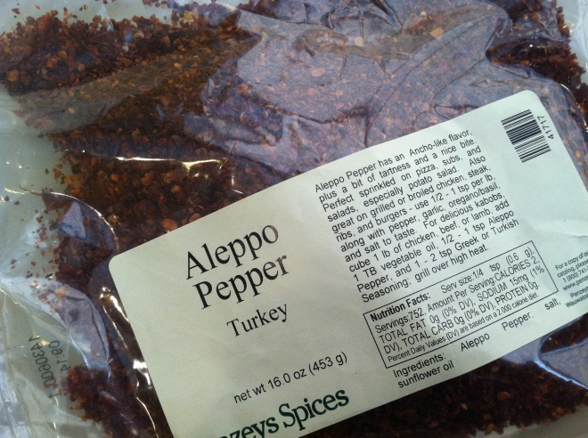 Penzeys aleppo pepper