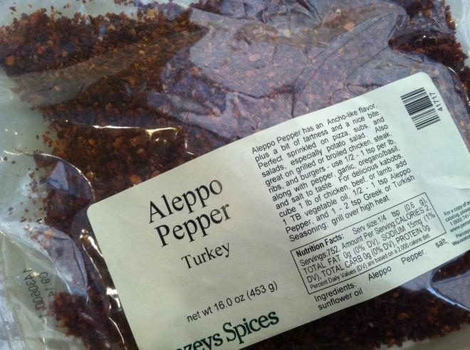 Penzeys aleppo pepper