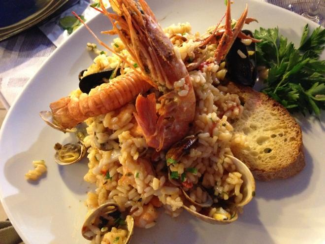Food of the magic kingdom amalfi coast chef paulette for Amalfi coast cuisine