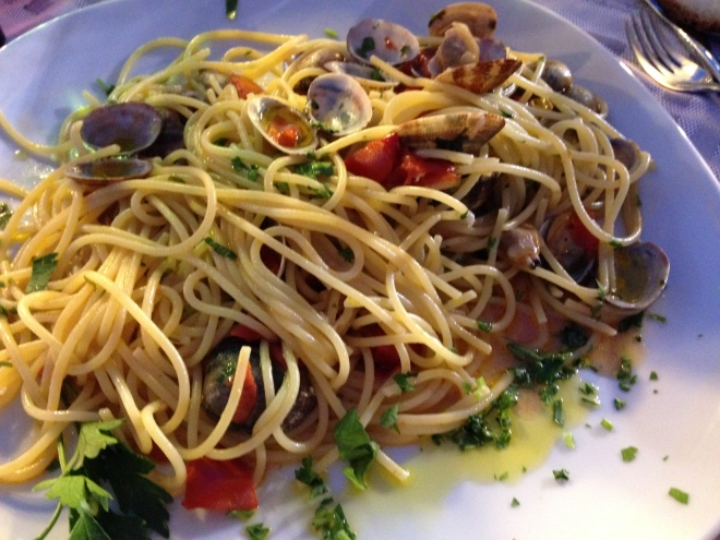 spaghetti vongole- my FAV