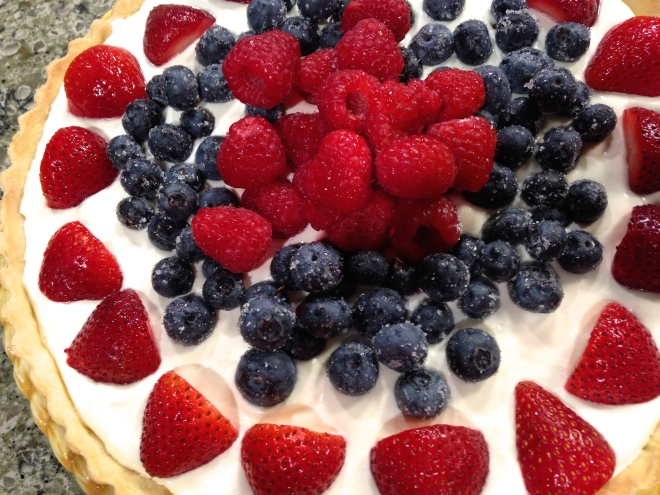 Red White & Blue Tart