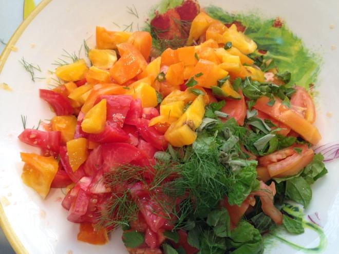 Tomato-Herb Salad