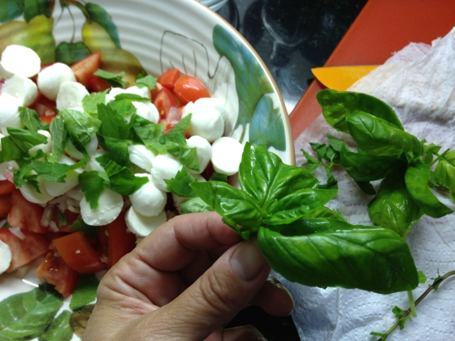 basil and mint