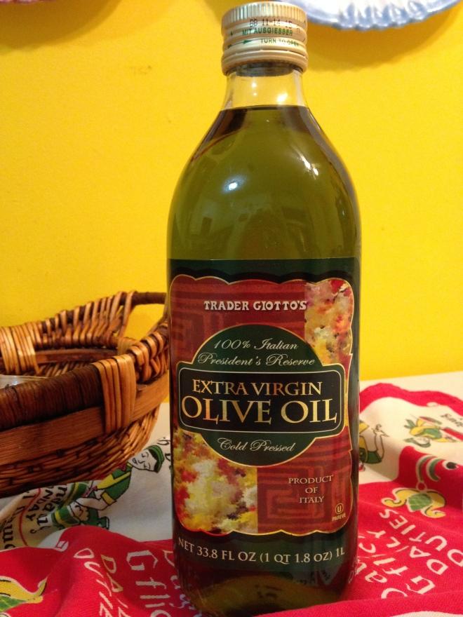 Trader Joe's President's Reserve Extra Virgin Olive Oil