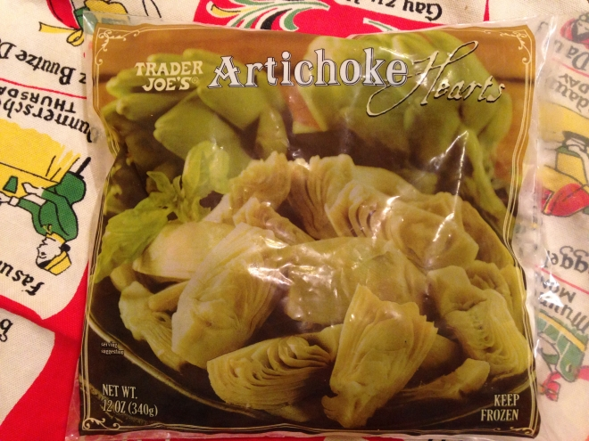Trader Joe Artichoke Hearts