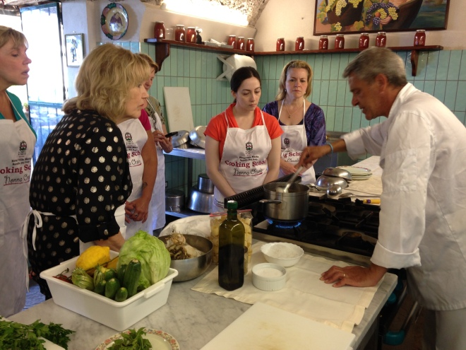 Cooking Class in Ravello at Hotel Villa Maria