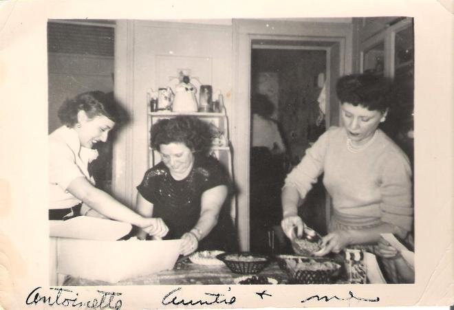 "My mom. ""Auntie,"" & Aunt Nettie"