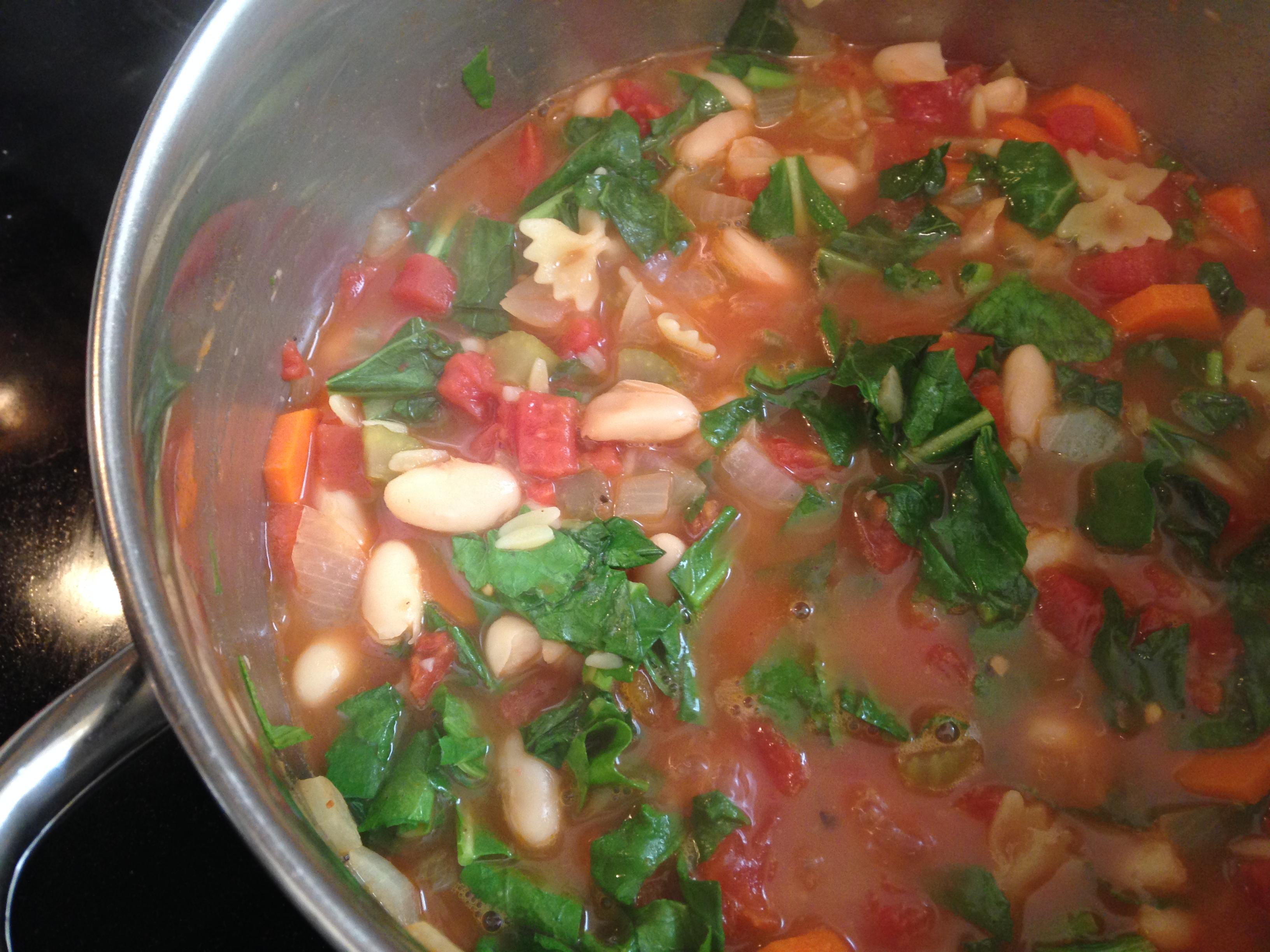 45 minute minestrone soup recipe u2013 chef paulette