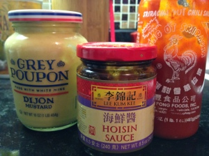 some choice condiments for meatloaf