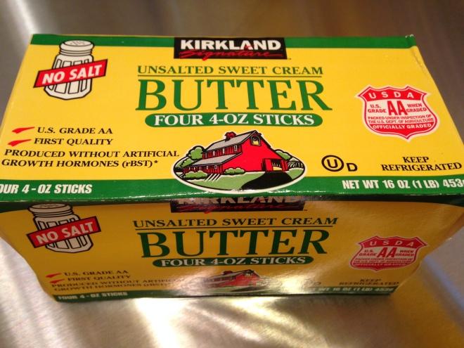Kirkland Unsalted Butter