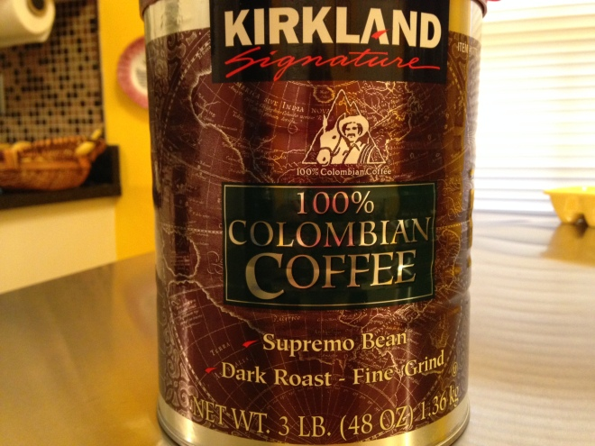 Costco Columbian Coffee