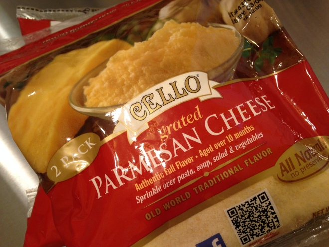 Cello Grated Cheese