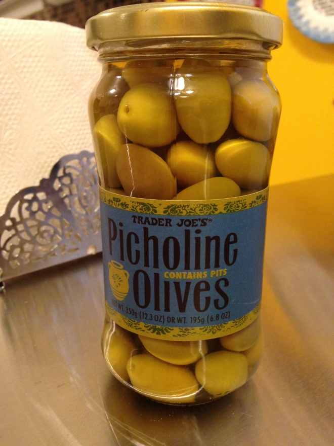 Trader Joe's Picholine Olives