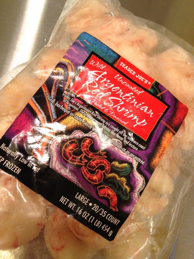 Trader Joe's Argentine Shrimp