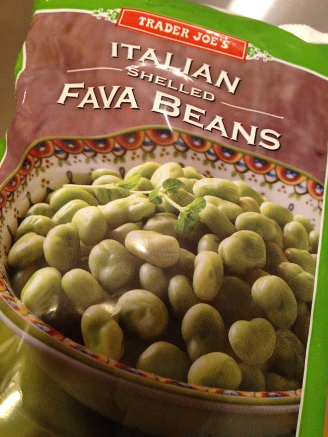Trader Joe's Frozen Fava Beans