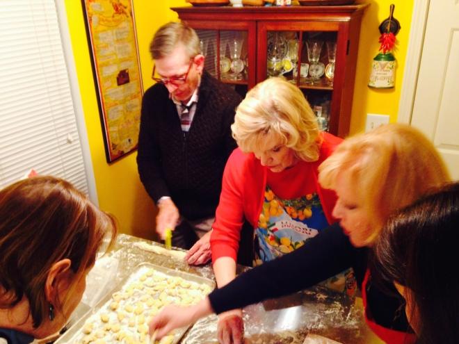 making butternut squash gnocchi