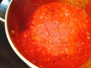 sun-dried tomato sauce