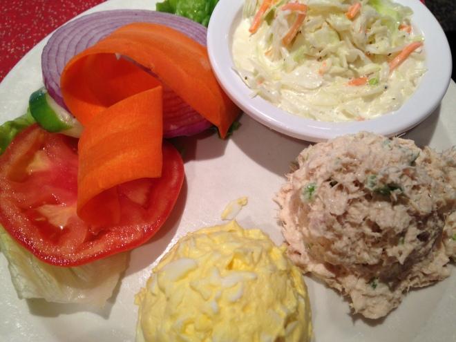 salad sampler at Noshville