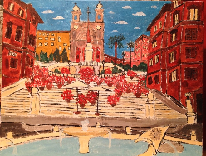 Rome's Spanish Steps