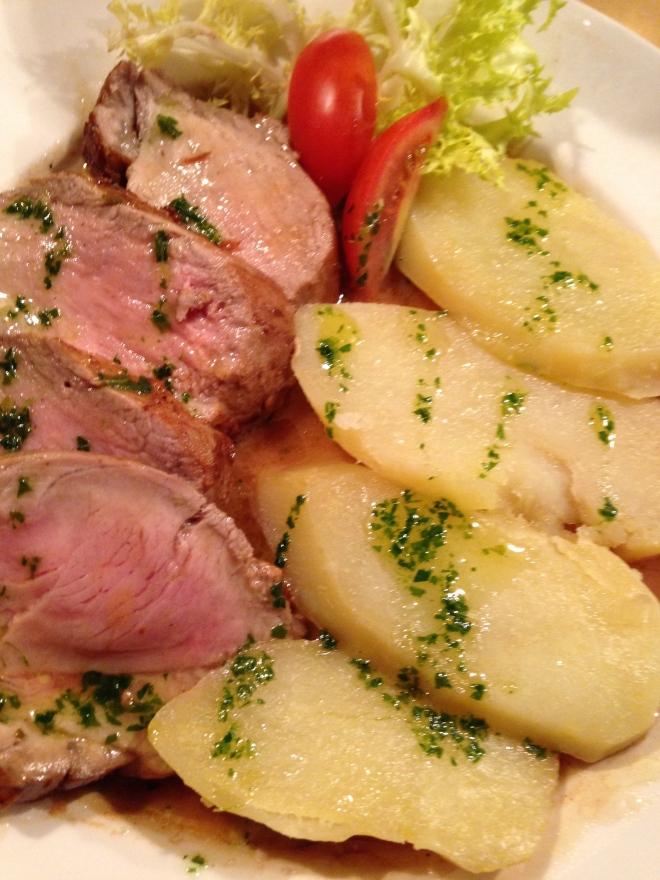 pork marsala at La Zucca