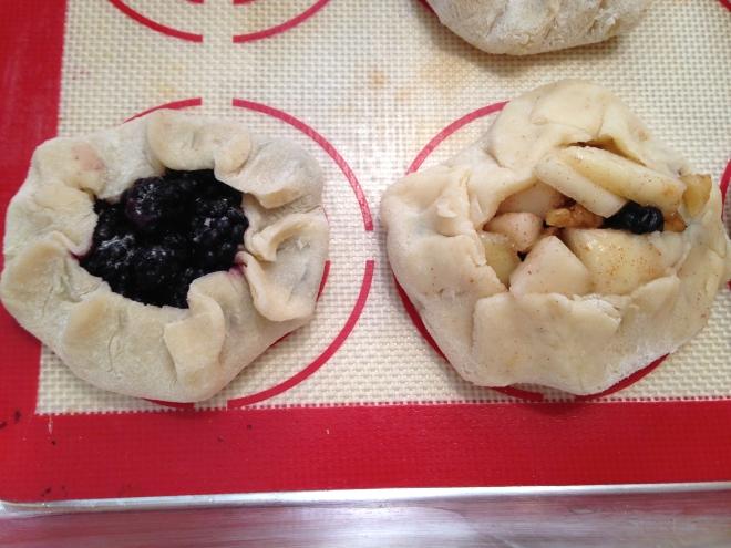 Ready to bake mini-galettes