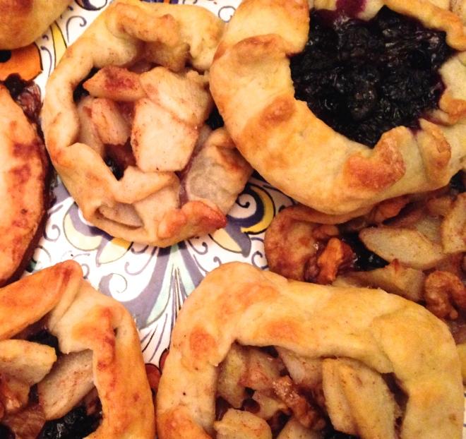 mini fruit galettes