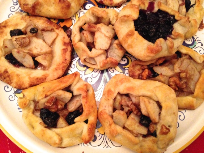 mini fruit galettes