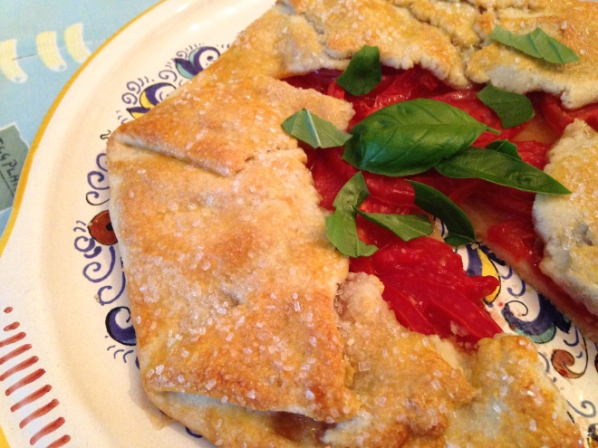 Sweet Tomato Galette