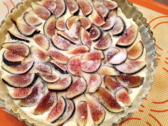 sugar on figs
