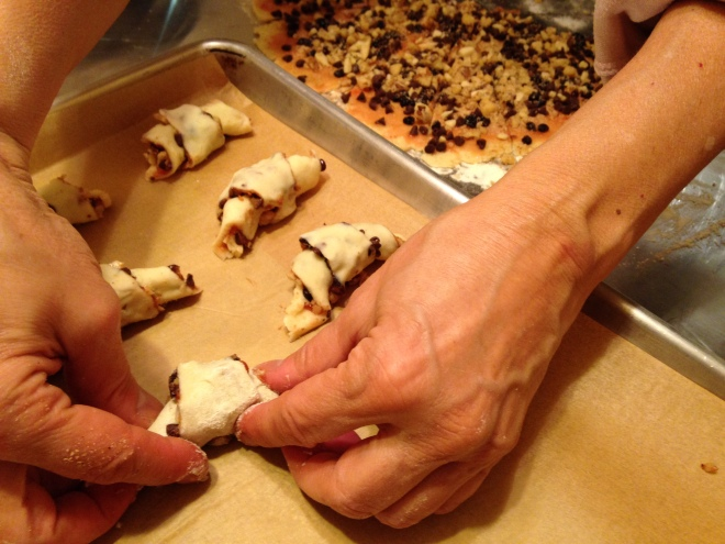 little crescent rugelach