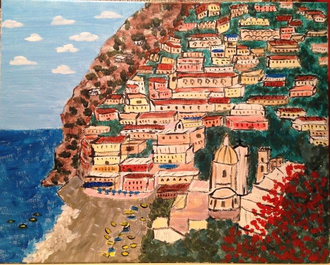 Hills of Positano