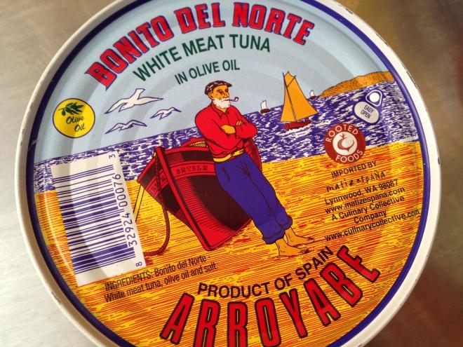 bonito tuna from Spain