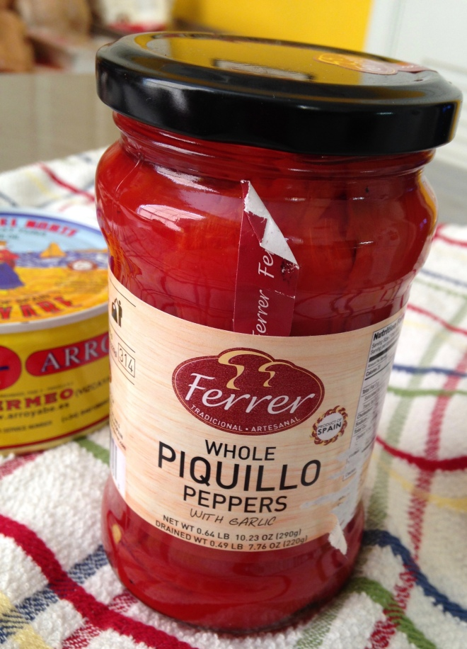 Spanish piquillo peppers