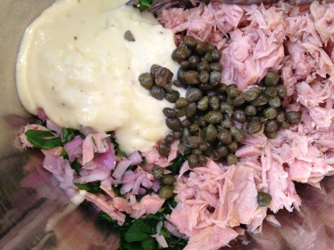 tuna mixture