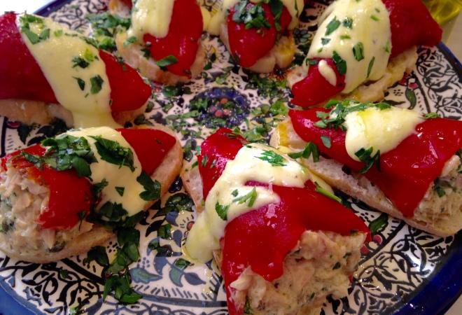 Spanish Tuna-Stuffed Piquillo Peppers