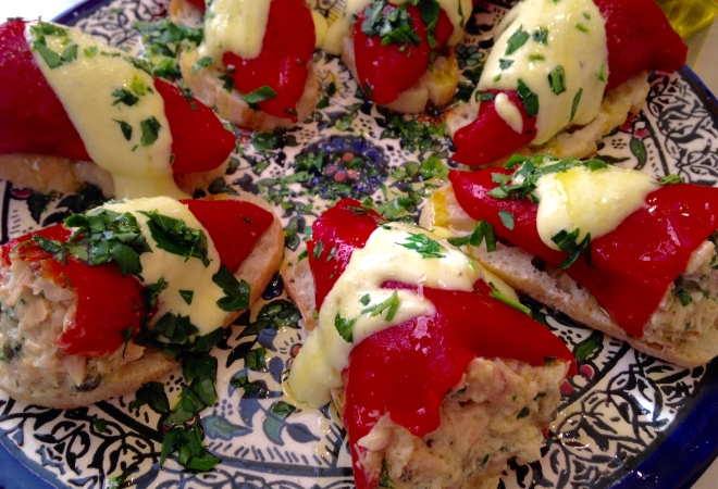 Spanish Tuna-Stuffed Piquillo Peppers