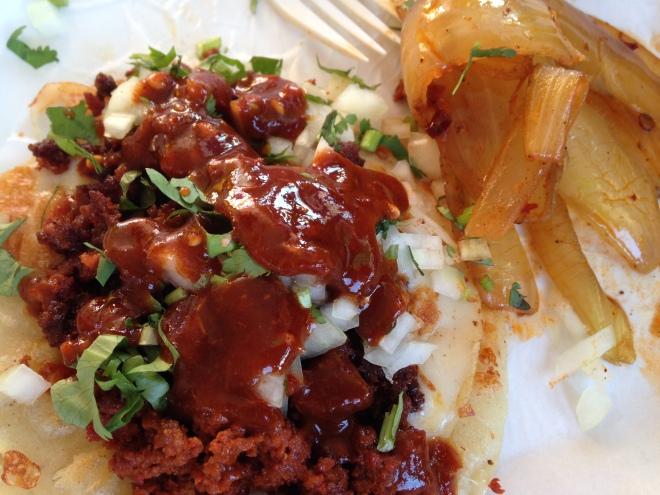 El Amigo chorizo tacos