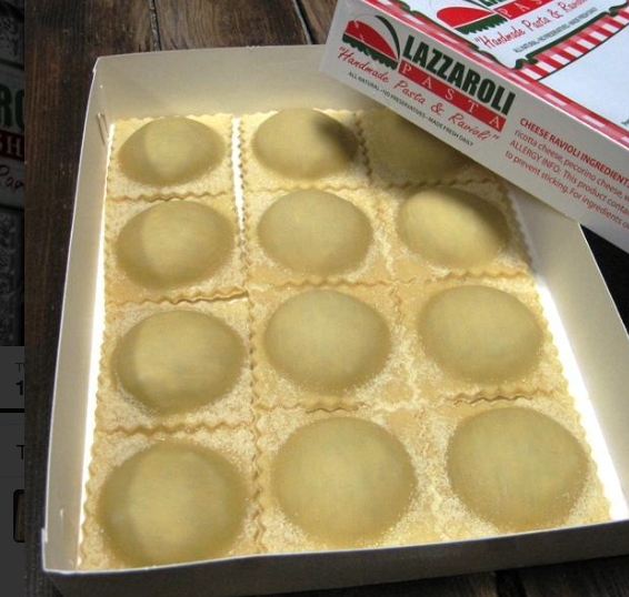 photo compliments of Lazzaroli Pasta Shop